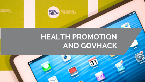 What can health promotion gain from participating in GovHack?