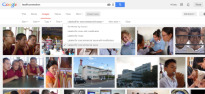 You can now search Google Images by license if you need to take images from the Internet.