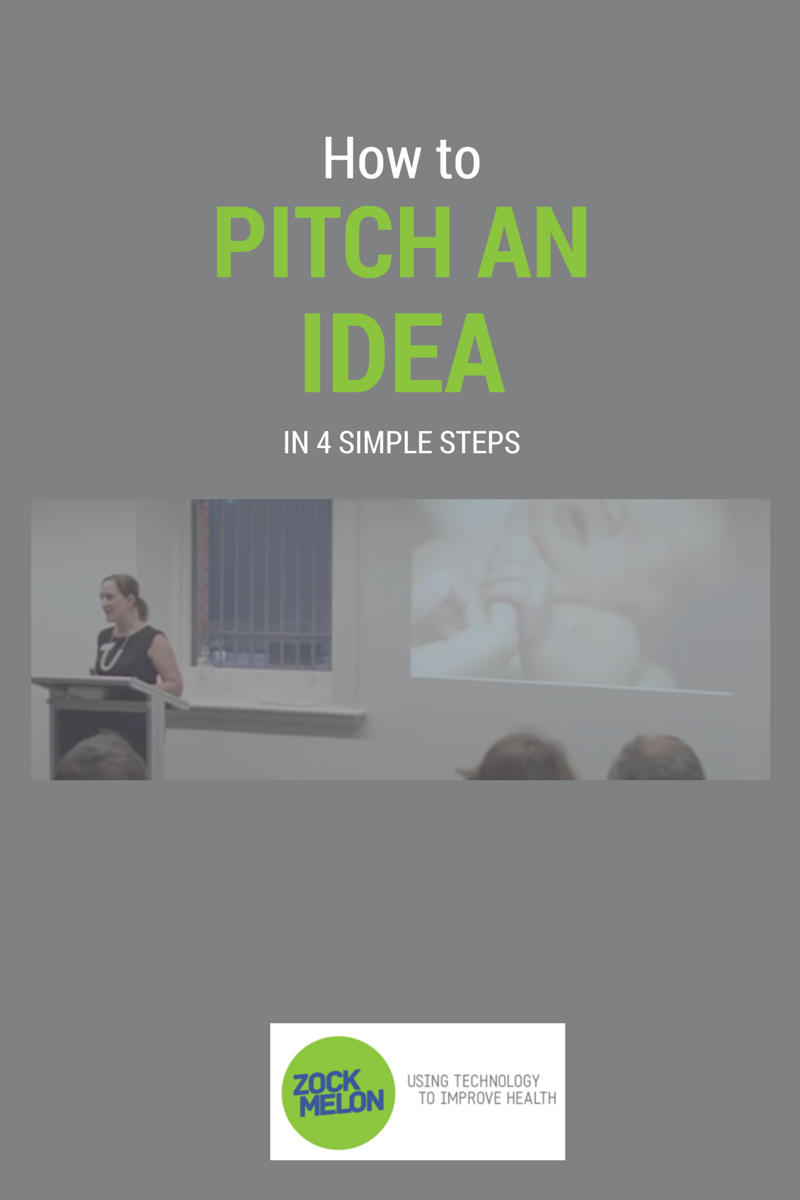 how to pitch an idea in 4 simple steps - zockmelon