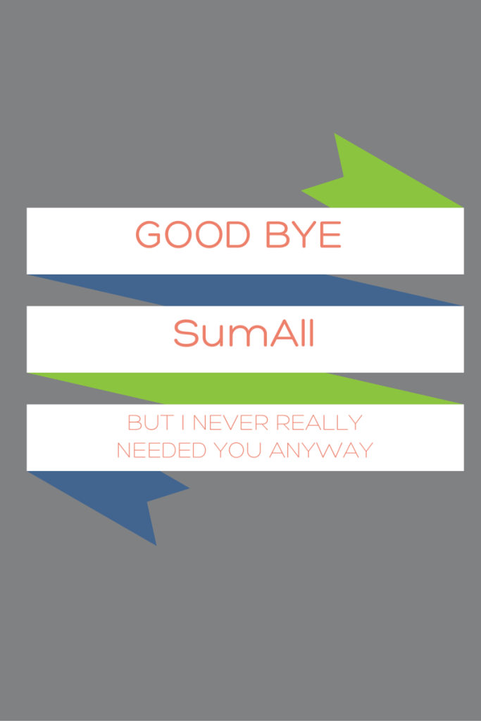 Goodbye SumAll