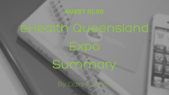 Blog graphic for eHealth Queensland Expo