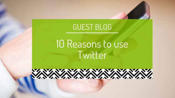 Guest blog: Ten Reasons to use Twitter by Tarun Weeramanthri