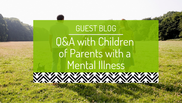Social Media Case Study: Children of Parents with a Mental Illness national initiative